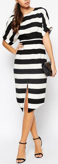 bold wide stripes