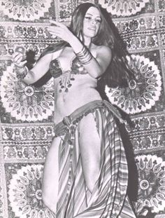 Aziza! in 1968 - the very first performance of Bal Anat.