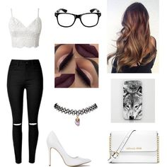 Untitled #204 by hunnybun15-1 on Polyvore featuring moda, Wet Seal and MICHAEL Michael Kors