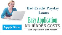 Important Points to Consider Before Borrowing Bad Credit Payday Loans!