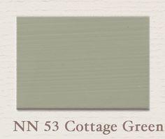 Krijtverf van painting the past in de kleur Cottage Green