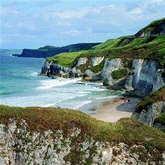 Portrush Whiterocks Beach county Antrim Ireland