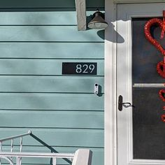 Metal House Number Sign Home Address Sign Address Sign Metal House Numbers, House Address Sign, Black Outdoor Wall Lights, Address Numbers, Curb Appeal, Door Handles, Signs, Etsy, Home Decor