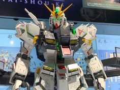 Check out the latest Gunpla Gundam News here. In Pursuit, Metal Structure, Gundam Model, Anime Figures, Mobile Suit, Three Dimensional, Tokyo, Animation, Robots