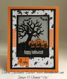 Spooky Fun. Try Stampin' On Tuesday