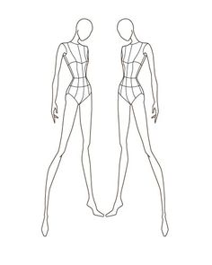 Croqui Fashion Model Templates | love designing especially clothes with a ton of pink in them i m not ...