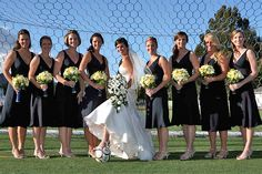 I feel like I'll have to do this.. Not all of my girls are soccer players but the ones that are will lace up & take pics in cleats & dresses in the goal mouth :) perf!
