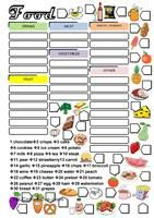 First students look for the twenty-four food and drinks in the wordsearch, then they match their names in the box to the pictures around the wordsearch. As an extra-task the lesson can be finished playing bingo on the blackboard to reinforce the pronunciation. Key provided.Fruit and vegetables here: https://en.islcollective.com/resources/printables/worksheets_doc_docx/fruit_and_vegetables_wordsearch/food/88179 - ESL worksheets