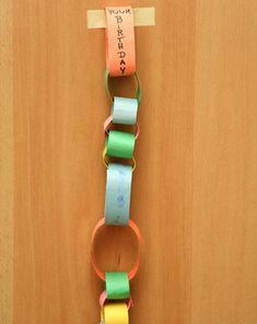 Activities: Make a Paper Chain Calendar