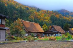 shirakawa-go japan autumn | ... snow. For me, I rather prefer Autumn when there are lots of colors
