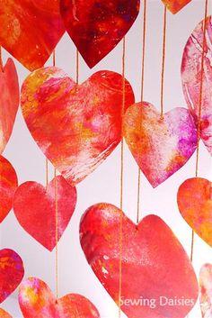 3M: Martha's Crayon Hearts