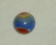 Akro Agate Antique Marble, Corkscrew, 4-Color Plus Blends, Stunning!