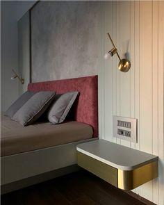 Furniture Layout, Bed Furniture, Furniture Design, Apartment Interior, 3 Bedroom Apartment, Indian Bedroom Design, Design Firms, Home Interior Design, Bed Back
