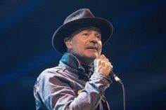 Gord Downie performs at WE Day in Toronto on Oct. 19, 2016.  Cancer-stricken Tragically Hip frontman Gord Downie made such an impact this year that he was chosen by Yahoo Canada News readers as their top pick for Canadian newsmaker of the year, receiving the most individual votes.  Darby Allen, the fire