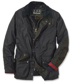 You'll appreciate the versatility of this medium weight Barbour waxed jacket. This all-purpose men's waxed jacket is designed for all-season wear. Wax Jackets, Men's Coats And Jackets, Barbour Jacket Mens, Waxed Cotton Jacket, Sharp Dressed Man, Look Cool, Men Dress, Parka, Menswear