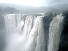 Jog Falls, created by the Sharavathi River