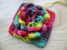by SusanneH, via Flickr ~ love the yarn ~ free pattern