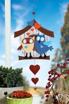 Im Herbst wird gekuschelt: Auch dieses Eulepärchen ist auf Kuschelkurs I © 2015 OZ-Verlags-GmbH Fall Paper Crafts, Spring Crafts, Diy And Crafts, Diy For Kids, Crafts For Kids, Furoshiki, Kindergarten Design, Paper Quilling Designs, Class Decoration