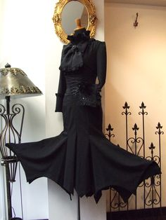 atelier boz morticia-looking skirt