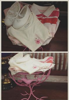 Gifting ideas for baby clothing hampers! www.facebook.com/thewhistlingnest