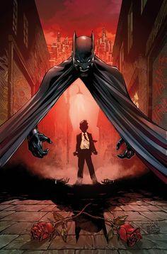 Batman #1 variant cover by Tony Daniel