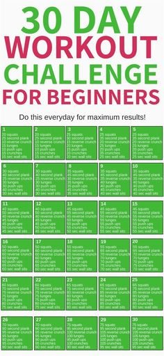This 30 day workout challenge for beginners is THE BEST! I'm so glad I found thi., This 30 day workout challenge for beginners is THE BEST! I'm so glad I found thi. This 30 day workout challenge for beginners is THE BEST! Fitness Herausforderungen, Fitness Workouts, Health Fitness, Exercise Cardio, Excercise, Ab Workouts, Fitness Diet Plan, Teen Fitness, Full Body Workouts