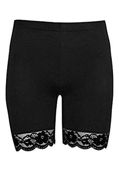 Oops Outlet Women's Lace Trim Jersey Gym Bike Cycling Hot Pants Tights Shorts only $7.99 - $11.99 from https://www.amazon.com/gp/product/B0133WPFK6/ref=as_li_ss_tl?ie=UTF8&linkCode=ll1&tag=bikeshoe04-20&linkId=aa6972da0766073034ec069518319eeb