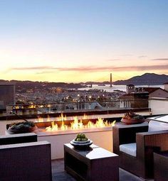 Terrasses sur le toit - Pinterest