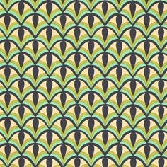 Art Deco pattern by ashleylaurensnyder