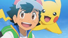 Fandom Clube — ikarishipping: Get you a ship who can do it all Pokemon Gif, Pokemon People, Ash Pokemon, Doraemon Wallpapers, Cute Pokemon Wallpaper, Ash Ketchum, Catch Em All, Anime, Cool Pictures