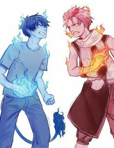 Blue Exorcist x Fairy Tail