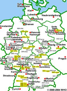 map of major cities in Germany | Germany | Holidays germany, Cities ...