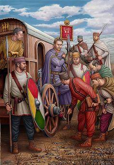 """""""Diocleciano, Frontera Oriental, finales del siglo III dC"""", Ángel García Pinto"""