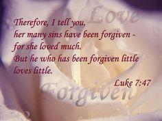Luke 7:47