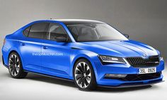 Skoda's Superb luxury sedan is looking likely to become the brand's next… Skoda Superb Rs, Diesel, Golf R, Golf Bags, Cars And Motorcycles, Automobile, Bike, Luxury, Illustration