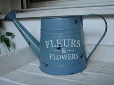 Hey, I found this really awesome Etsy listing at https://www.etsy.com/ca/listing/246027365/vintagefrench-styleshabby-chic-watering