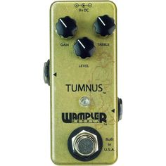 Wampler Tumnus Overdrive/Boost Guitar Pedal