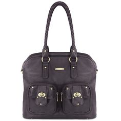 Rachel 7-Piece Bag Set - Pebble Black by timi & leslie