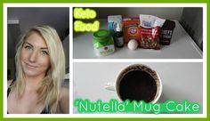 Eating Keto 32: Nutella Mug Cake