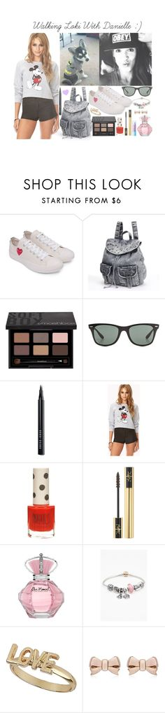 """Walking Loki! <3 :)"" by itsmee123 ❤ liked on Polyvore featuring Payne, Converse, Mudd, Smashbox, Ray-Ban, Bobbi Brown Cosmetics, Forever 21, Topshop, Yves Saint Laurent and Pandora"