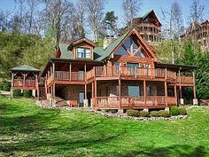 The Mountaintop Lodge You've Dreamed About!  Privacy and Amazing Views!  LKLGVacation Rental in Wears Valley from @homeaway! #vacation #rental #travel #homeaway