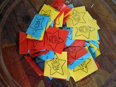 Motivace - sbíráme hvězdiky - za 10 hvězdiček jedna na nelepení na klobouk