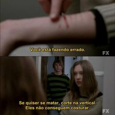 AAH que saudade desses dois ♡-♡ You Destroyed Me, Tate And Violet, Suicide Quotes, Psycho Girl, Inspirational Phrases, Dark Thoughts, I Am Sad, Sad Life, American Horror Story