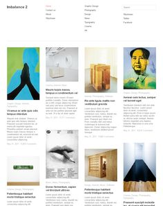 Top 8 Free Wordpress Themes Grid Style