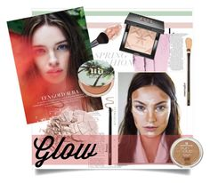 """""""glow"""" by tellmeverything ❤ liked on Polyvore featuring beauty, Urban Decay, Givenchy and springglow"""