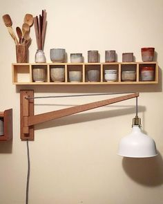 Source by fimomarseille The post The Latest Trend In wooden lamps Ideas appeared first on Estudos de Madeira. Woodworking Lamp, Easy Woodworking Projects, Diy Luminaire, Wooden Lamp, Bedroom Lamps, Lamp Design, Lamp Light, Floor Lamp, Light Fixtures
