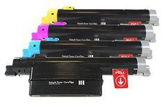 Compatible pour Xerox Phaser 6360 Cartouche de Toner Promo Pack Cyan/Magenta/Jaune/Noir 106R01218 – 106R01221 Phaser 6360 1 x 18.000 & 3 x…