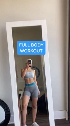 Full Body Hiit Workout, Slim Waist Workout, Gym Workout Videos, Gym Workout For Beginners, Fitness Workout For Women, Sport Fitness, Body Fitness, Butt Workout, Gym Workouts