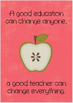 Quotes about Education good teacher--- THANKFUL for all our awesome therapists & teachers, past & present :)