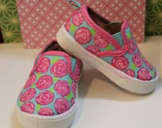 Lilly inspired baby shoes!